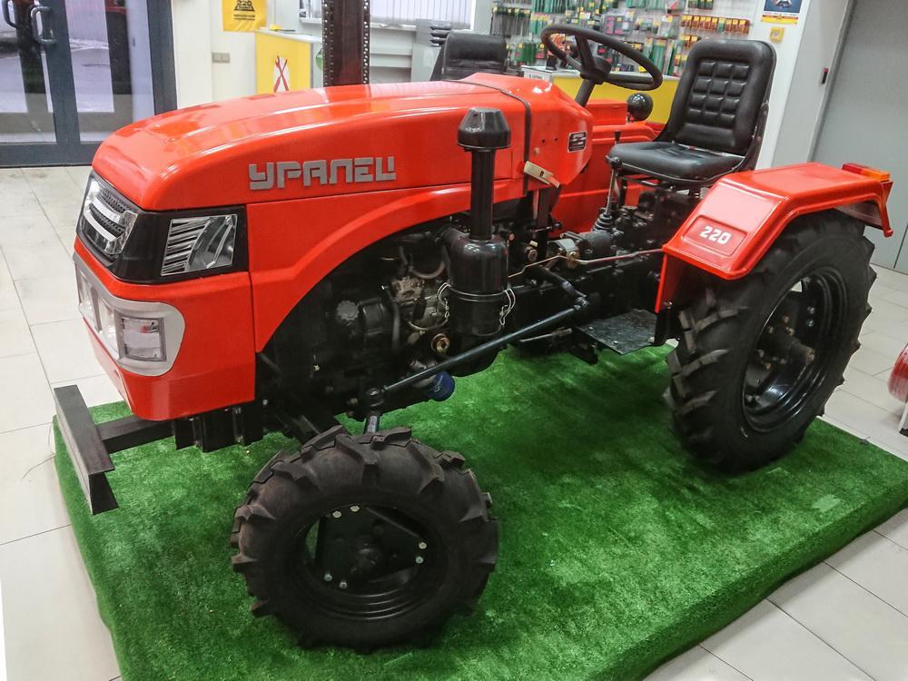 Трактор УРАЛЕЦ 220 от 220 Вольт