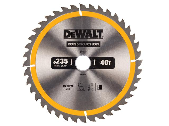 Диск пильный твердосплавный Dewalt Dt1955qz диск пильный по дереву 184х16 мм z40 dewalt dt 10303