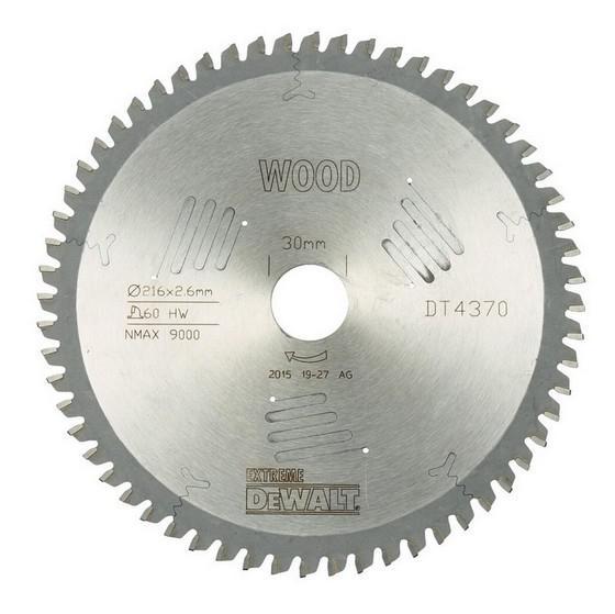 Диск пильный твердосплавный Dewalt Dt4370qz диск пильный по дереву 184х16 мм z40 dewalt dt 10303