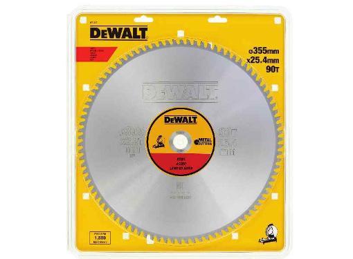 Диск пильный твердосплавный DEWALT Ф355х25.4мм 90зуб. (DT1927QZ)