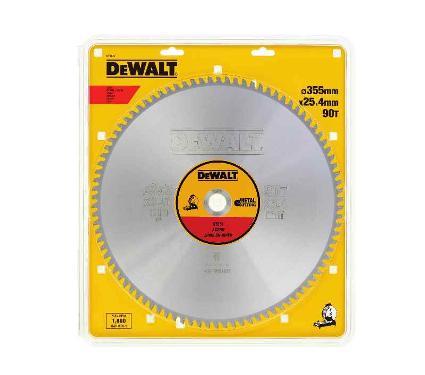 Диск пильный твердосплавный DEWALT Ф355х25.4мм 66зуб. (DT1926QZ)