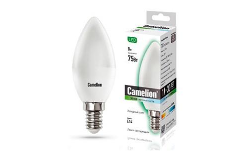 Лампа светодиодная Camelion Led8-c35/845/e14