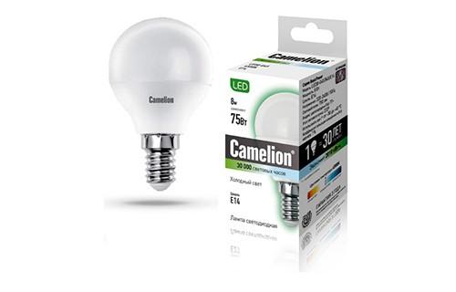 Лампа светодиодная Camelion Led8-g45/845/e14