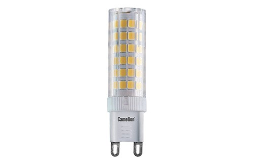 Лампа светодиодная Camelion Led6-g9/845/g9 лампа светодиодная camelion led6 jcdr 845 gu5 3