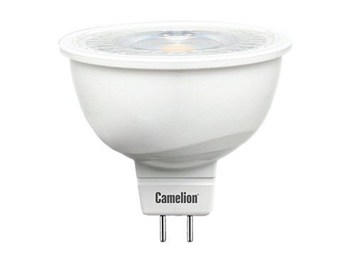 Лампа светодиодная Camelion Led6-jcdr/830/gu5.3 лампа светодиодная camelion led6 jcdr 845 gu5 3