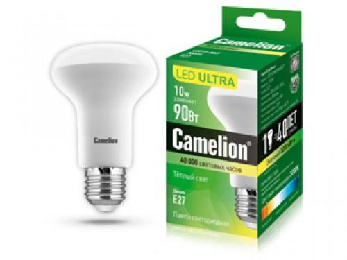 Лампа светодиодная Camelion Led10-r63/830/e27
