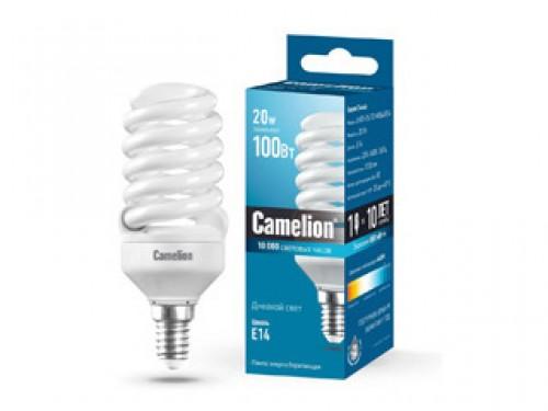 Лампа энергосберегающая Camelion Lh20-fs-t2-m/864/e14