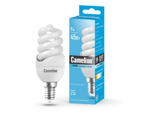 Лампа энергосберегающая Camelion Lh9-fs-t2-m/842/e14