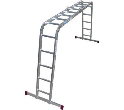Универсальная шарнирная лестница KRAUSE CORDA 085078