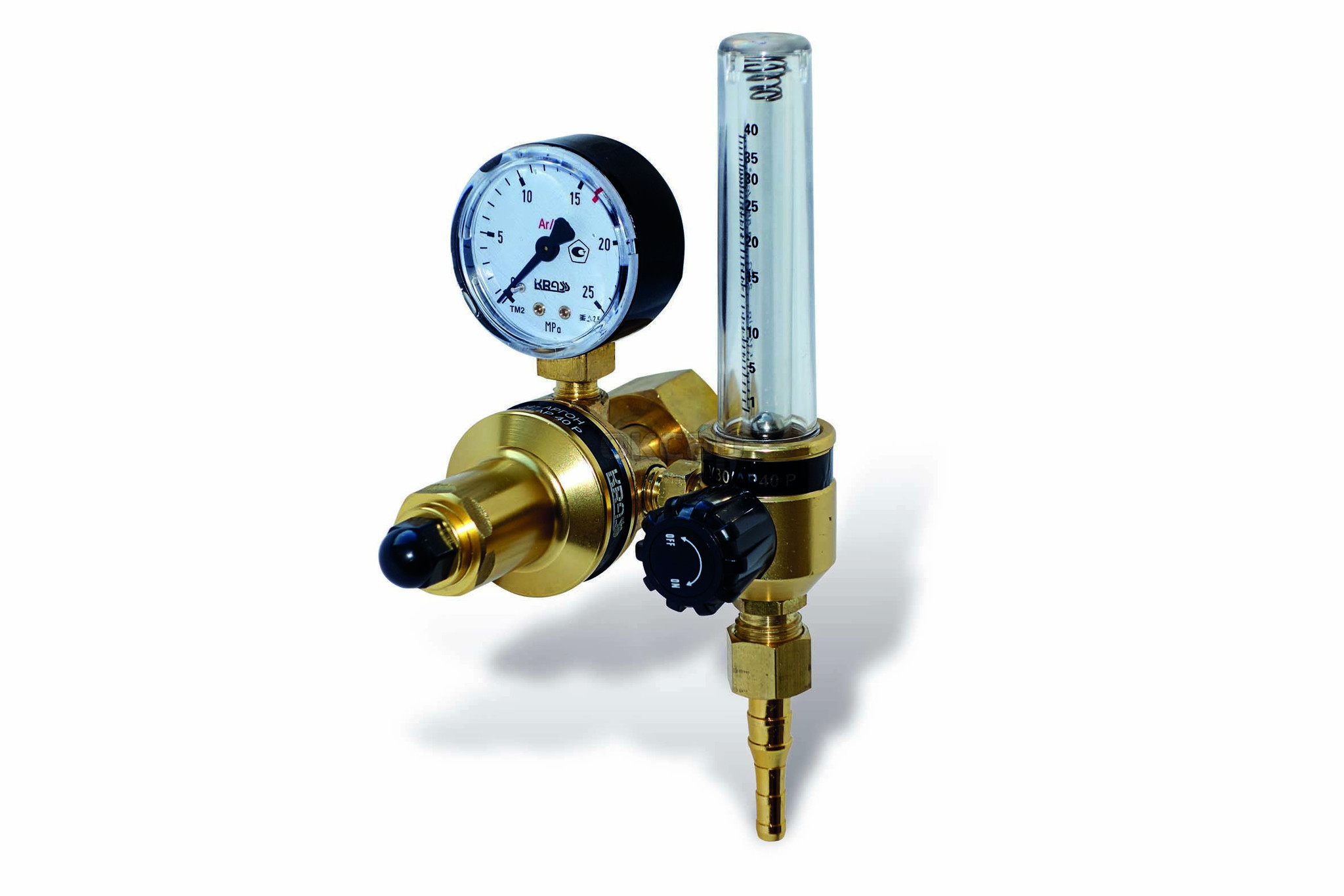 Регулятор Krass У 30/АР 40 Р с ротаметром регулятор давления топлива спорт ауди 100 2 3 е