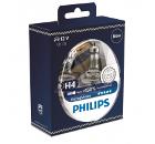 Автолампа PHILIPS H4 (60/55) P43t-38+150% RACING VISION (2шт) 12V /1/10