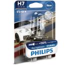 Автолампа PHILIPS H7 (55) PX26d+150% RACING VISION (блистер) 12V /1/5