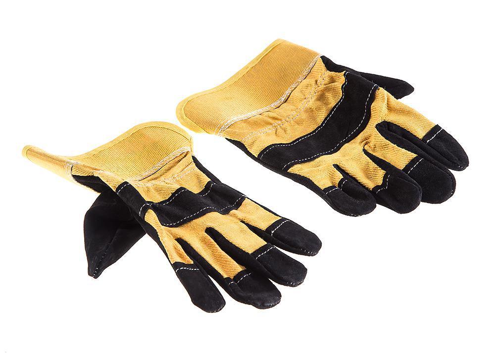 Перчатки спилковые Hammer 230-021 перчатки newton per7 ангара люкс комбинированные спилковые