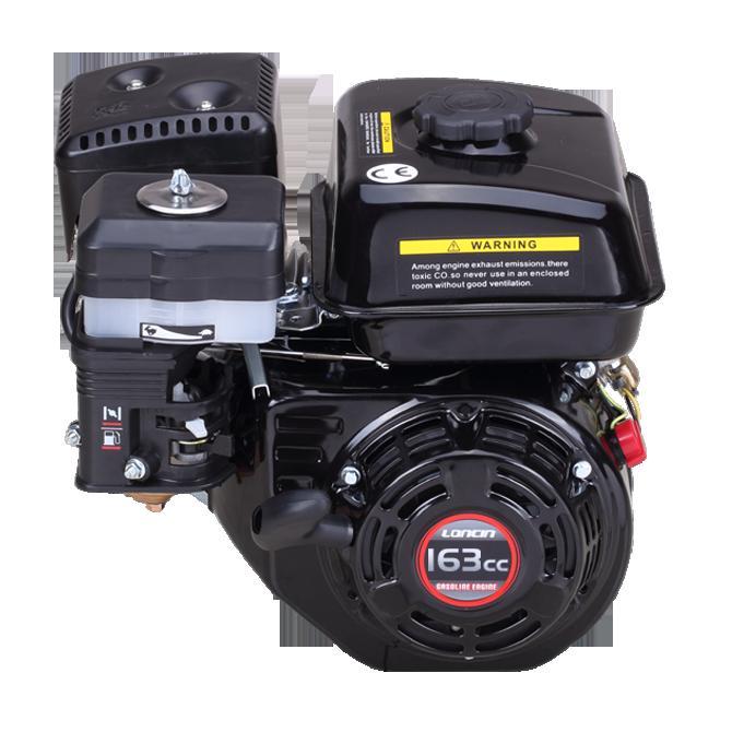 Двигатель Loncin G160f (a тип)