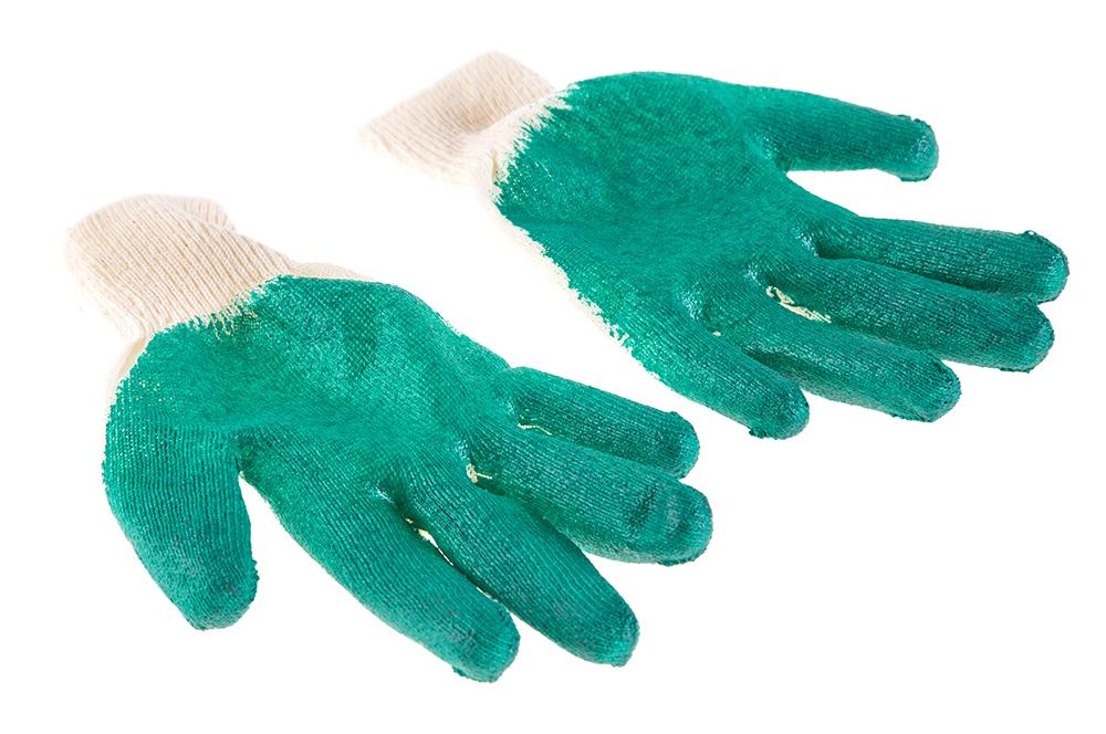 Перчатки обливные Hammer 230-024 б у станки делать х б перчатки
