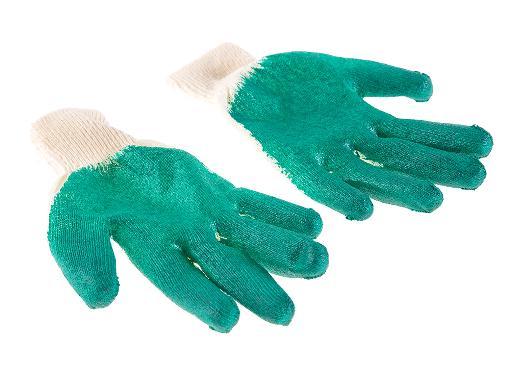 Обливные ХБ перчатки HAMMER 230-024