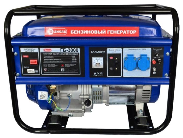 Бензиновый генератор ДИОЛД ГБ-3000