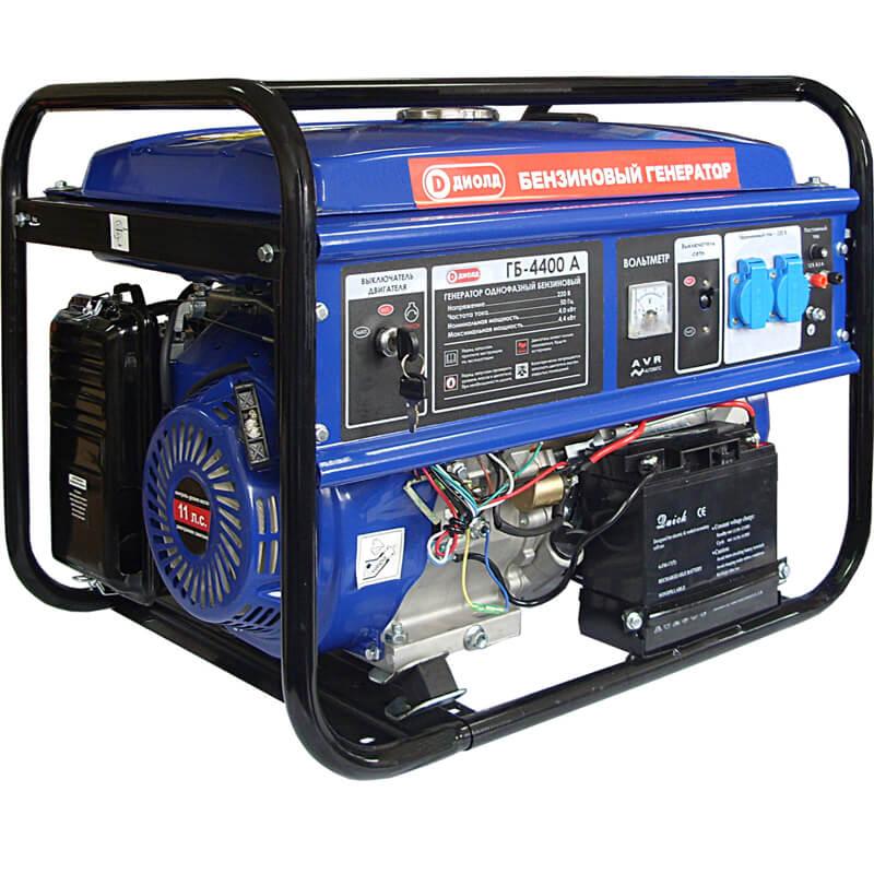 Бензиновый генератор ДИОЛД ГБ-4400А