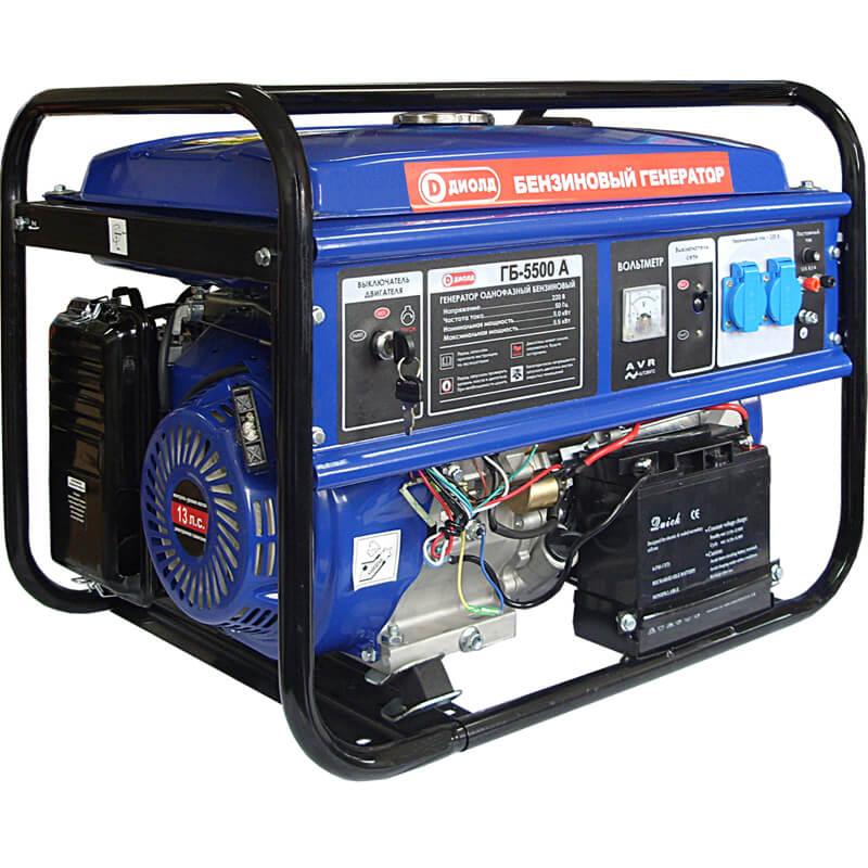 Бензиновый генератор ДИОЛД ГБ-5500А