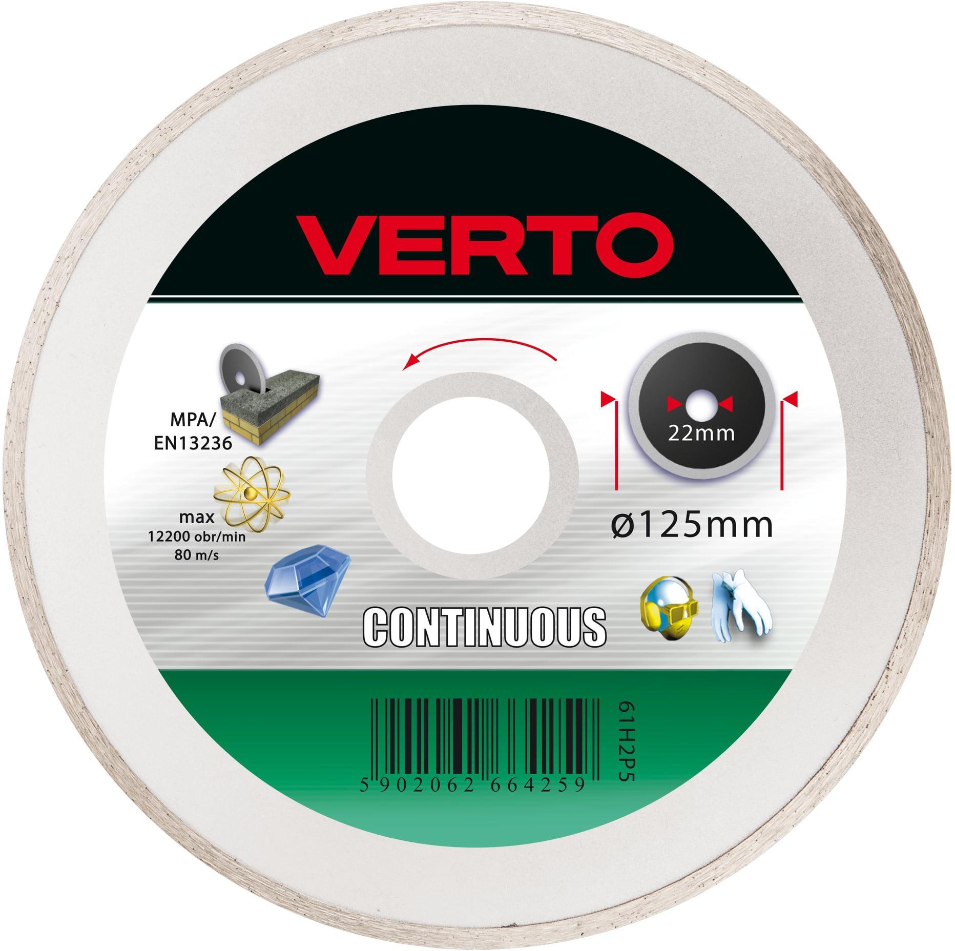 Круг алмазный Verto 61h2p5