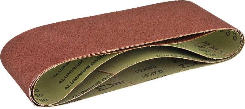 Лента шлиф. бесконечная Verto 75х457мм p80  - Купить