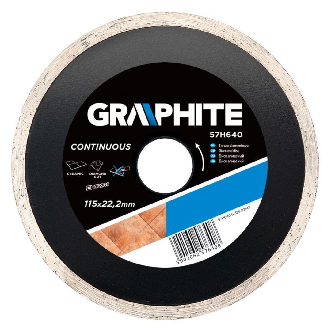 Круг алмазный Graphite 57h640