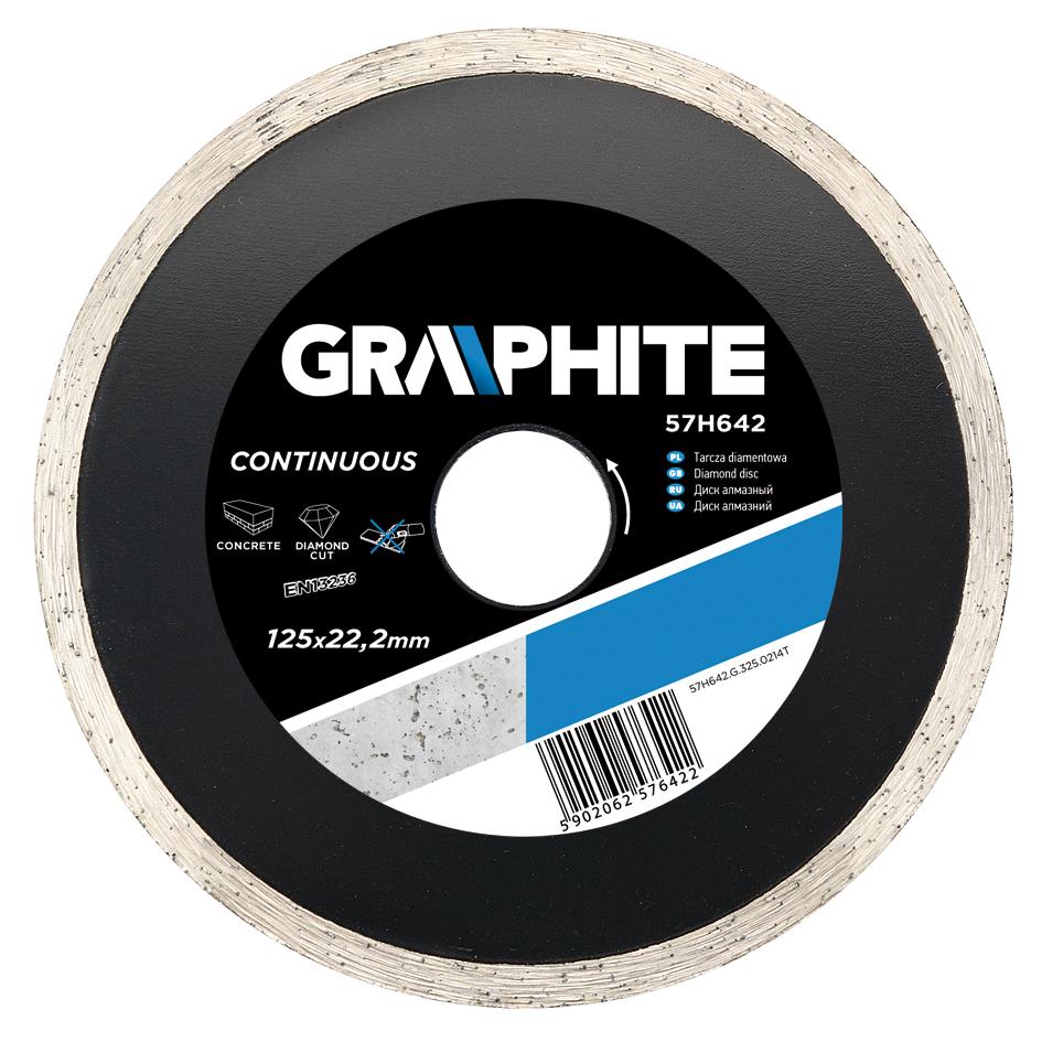 Круг алмазный Graphite 57h644 цена