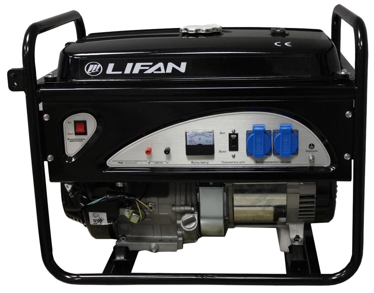 Бензиновый генератор Lifan 4gf-3 цена в Москве и Питере