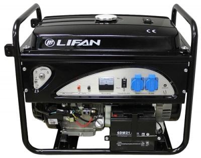Бензиновый генератор Lifan 4gf-4 цена в Москве и Питере