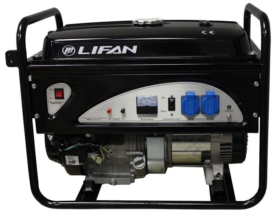 Генератор Lifan 5gf-3 двигатель lifan 168f 2l