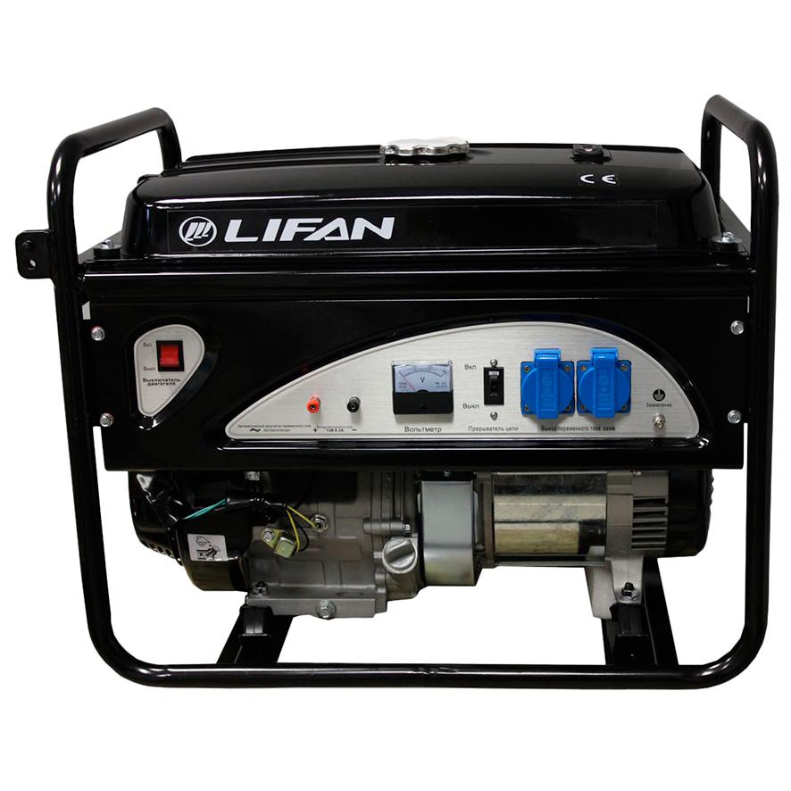 Генератор Lifan 6gf-3 бензиновый генератор автомат lifan 5gf 5a