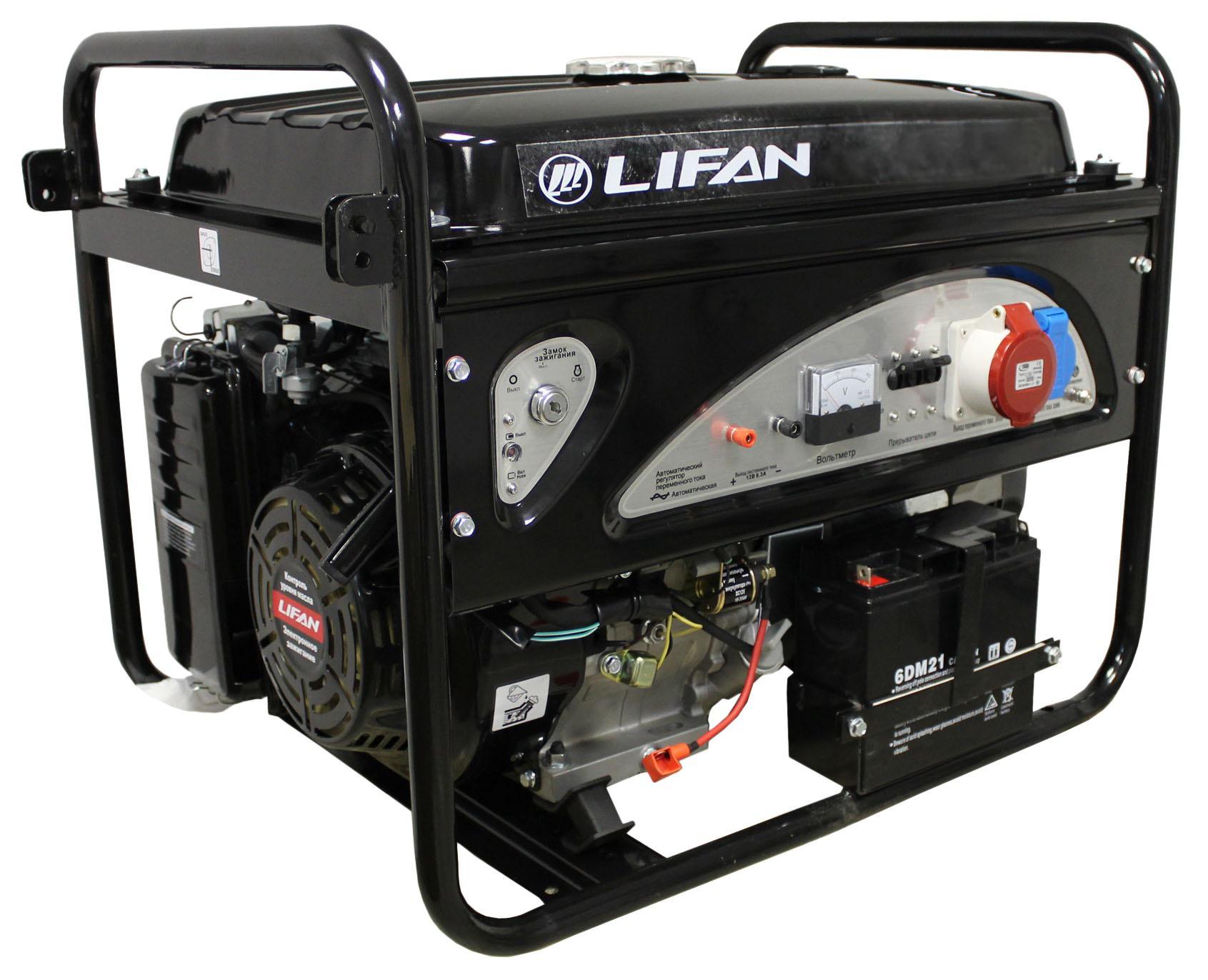 Генератор Lifan 6gf2-4 двигатель lifan 168f 2l