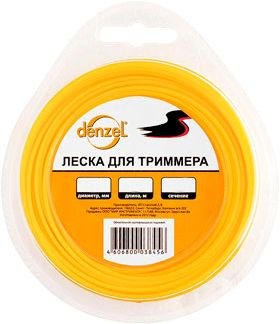 Леска для триммеров Denzel 96184 40a blade contact fuse link base holder nt00 500v 120ka 660v 50ka