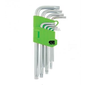 Набор ключей СИБРТЕХ 12321 набор г образных ключей торкс t10 t50 9шт jtc 5354