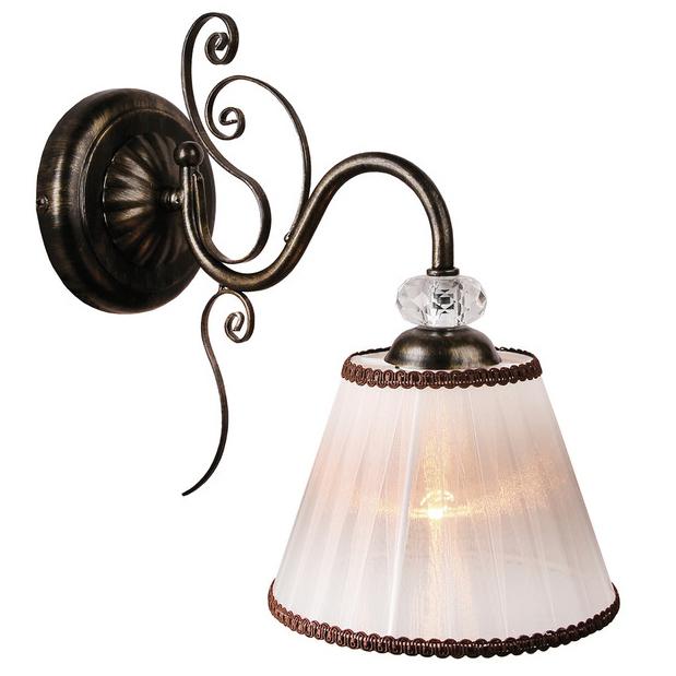 Светильник настенный АВРОРА 10156-1b светильник настенный аврора лагуна 10023 1b