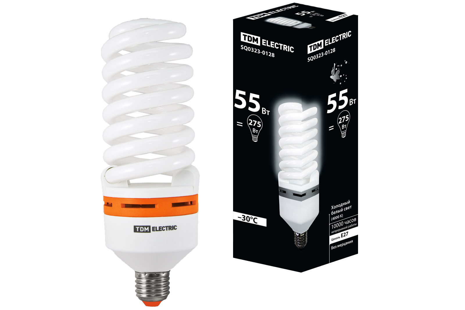 Лампа энергосберегающая Tdm Sq0323-0128 лампа энергосберегающая tdm sq0323 0054