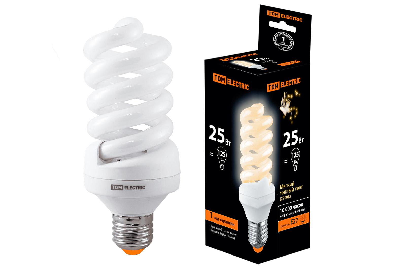 Лампа энергосберегающая Tdm Sq0323-0013