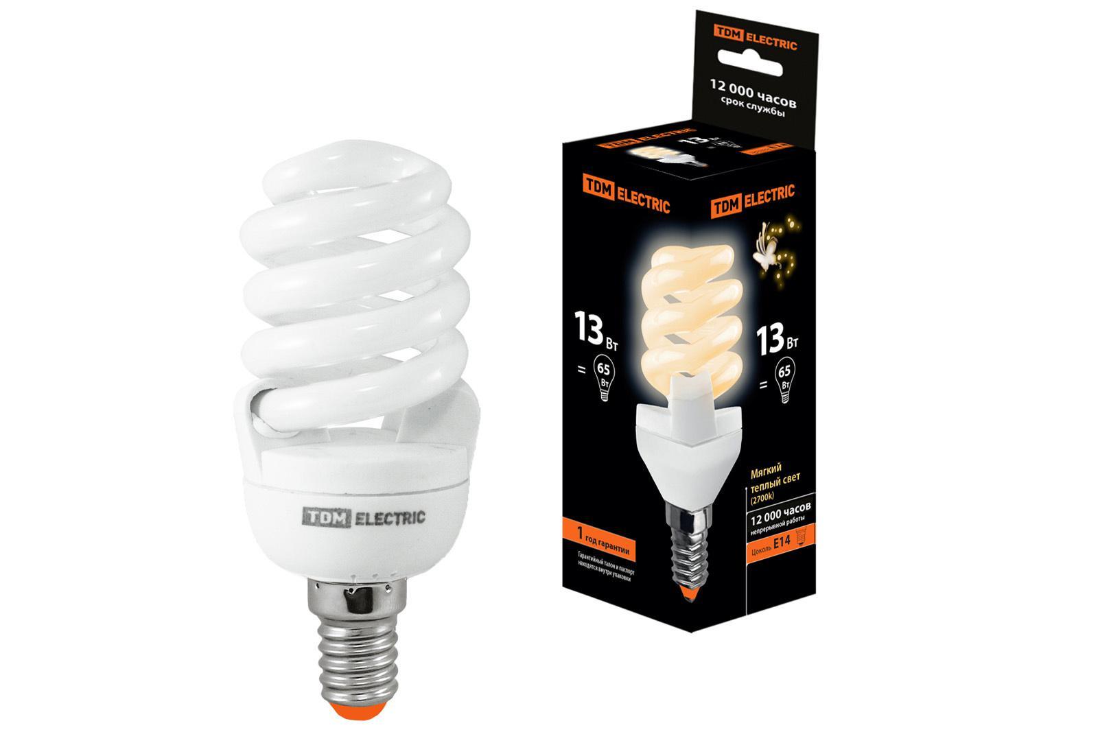 Лампа энергосберегающая Tdm Sq0323-0054