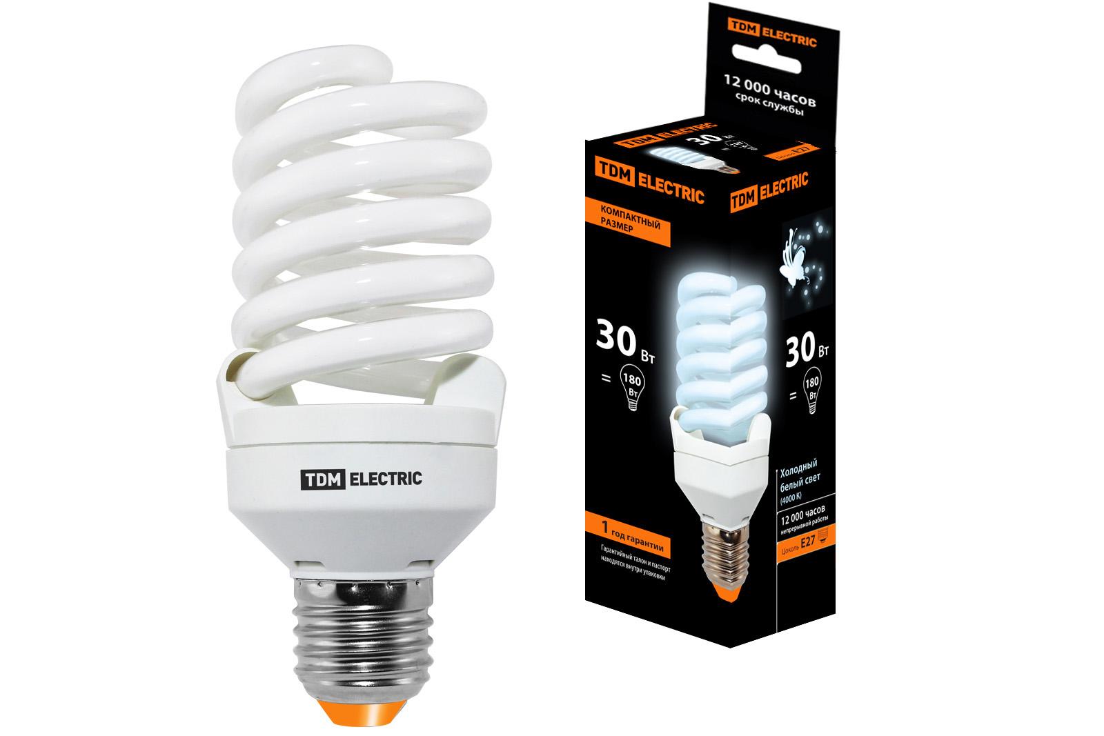 Лампа энергосберегающая Tdm Sq0323-0194
