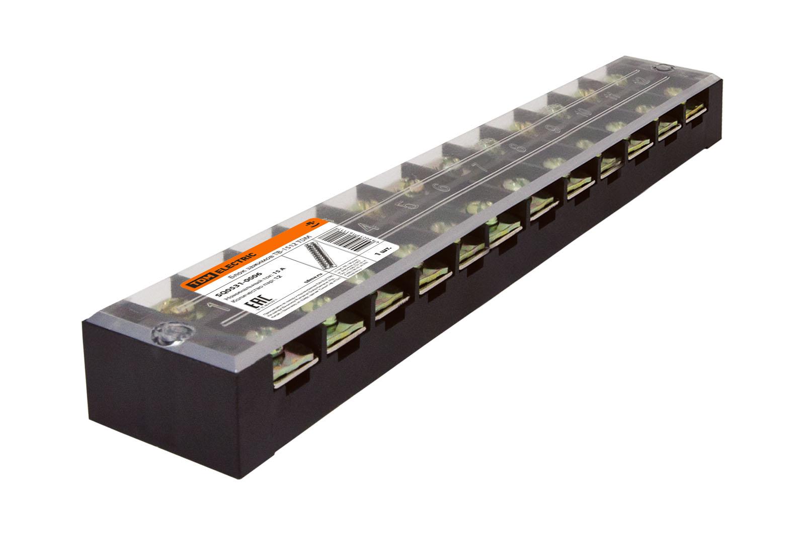 Зажим Tdm Sq0531-0006 tdm electric smd5050 60 20 12 144 3200 ip20 sq0331 0006