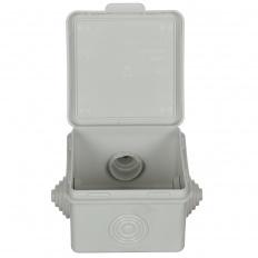 Коробка распаячная Tdm Sq1401-0112-i распаячная коробка с крышкой оп 240х195х165мм ip44 кабельные ввода d28 3шт d37 2шт tdm sq1401 1273