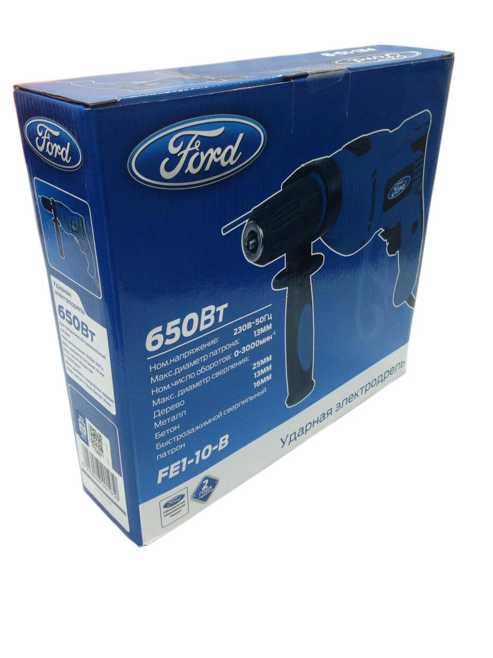 Дрель ударная Ford Fe1-10-b