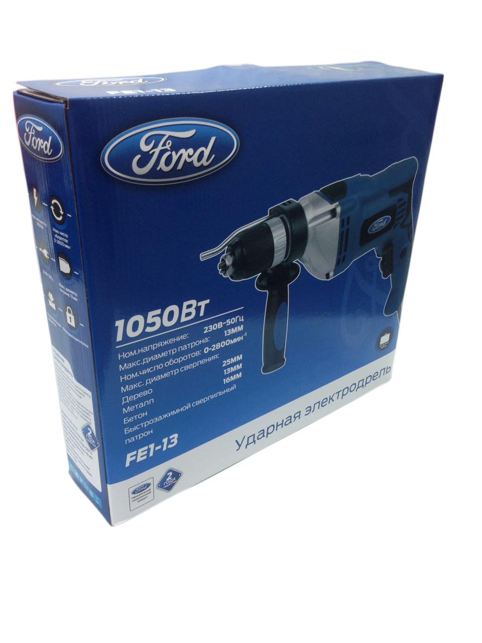Дрель ударная Ford Fe1-13