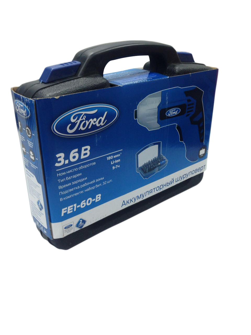 Отвертка аккумуляторная Ford Fe1-60-b