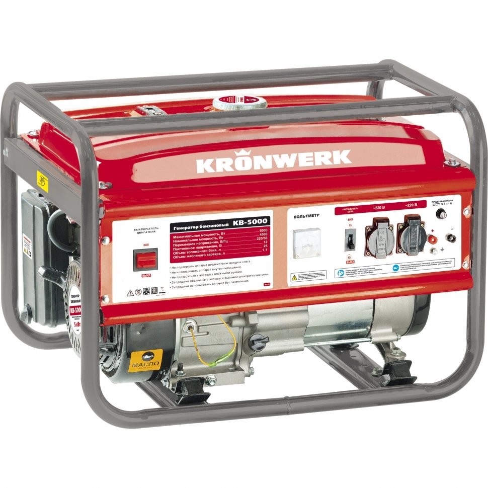 Бензиновый генератор Kronwerk Kb 5000