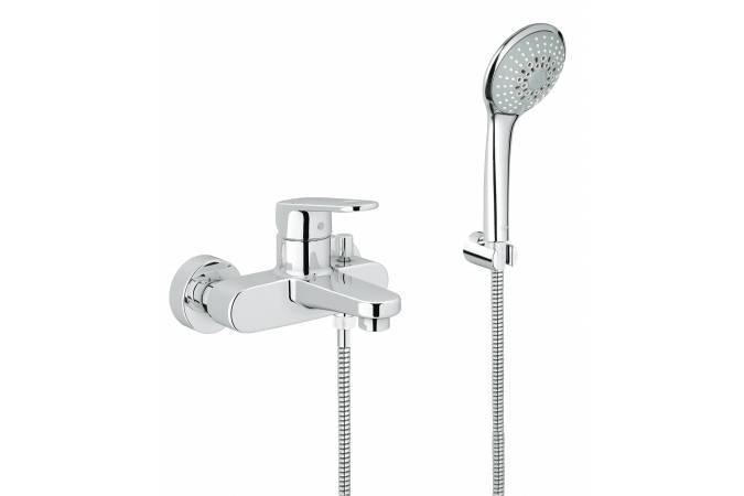 Смеситель для ванны с душем Grohe Europlus 33547002 grohe смесительgrohe atrio 25010000 для ванны с душем