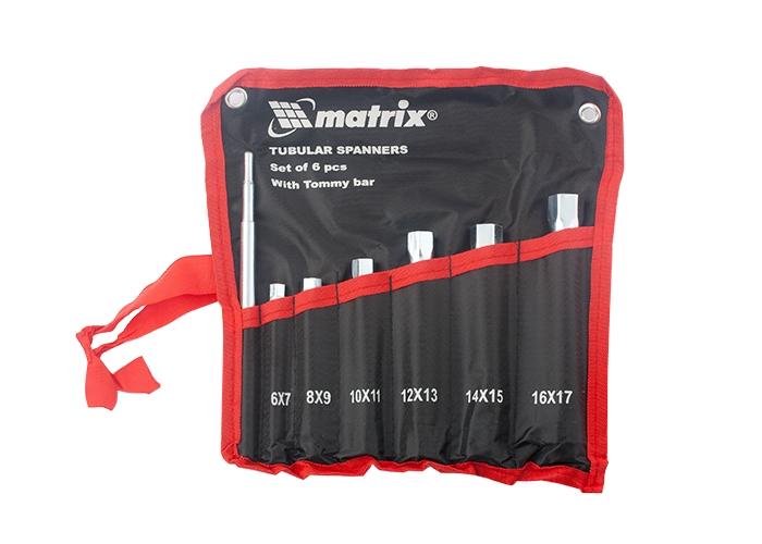 Набор ключей Matrix 13719 набор ключей рожковых matrix master elliptical