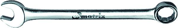 Ключ Matrix 15163 (19 мм) ключ комбинированный matrix полированный хром