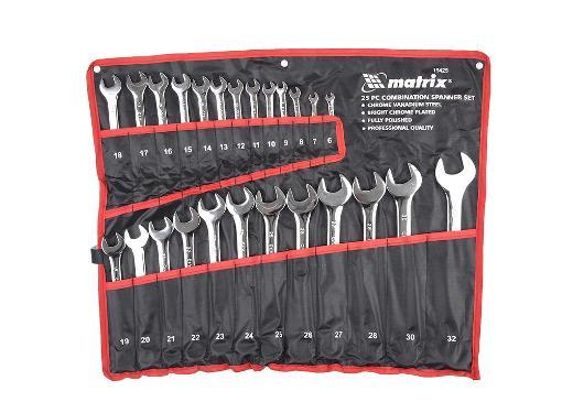 Ключ гаечный MATRIX 15425 (6 - 32 мм)