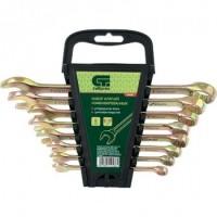 Набор ключей СИБРТЕХ 15438 (8 - 19 мм) набор ключей сибртех 15220 6 19 мм
